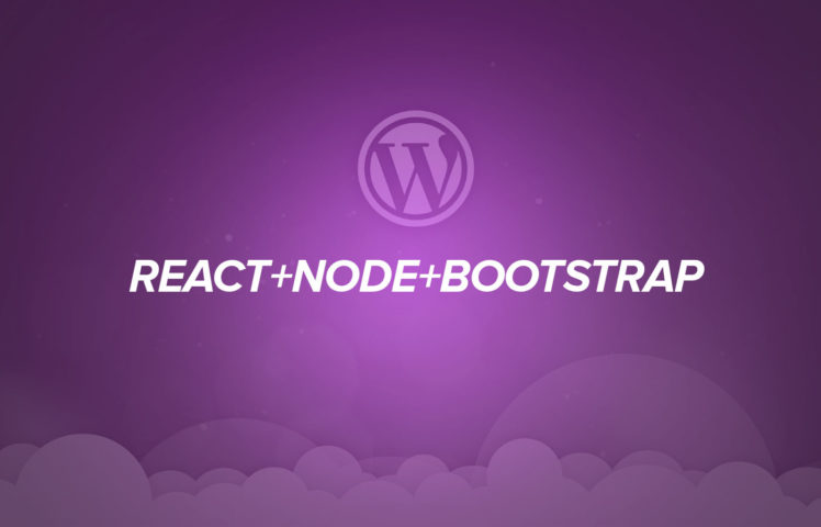 Getting started with React, Node and React Bootstrap