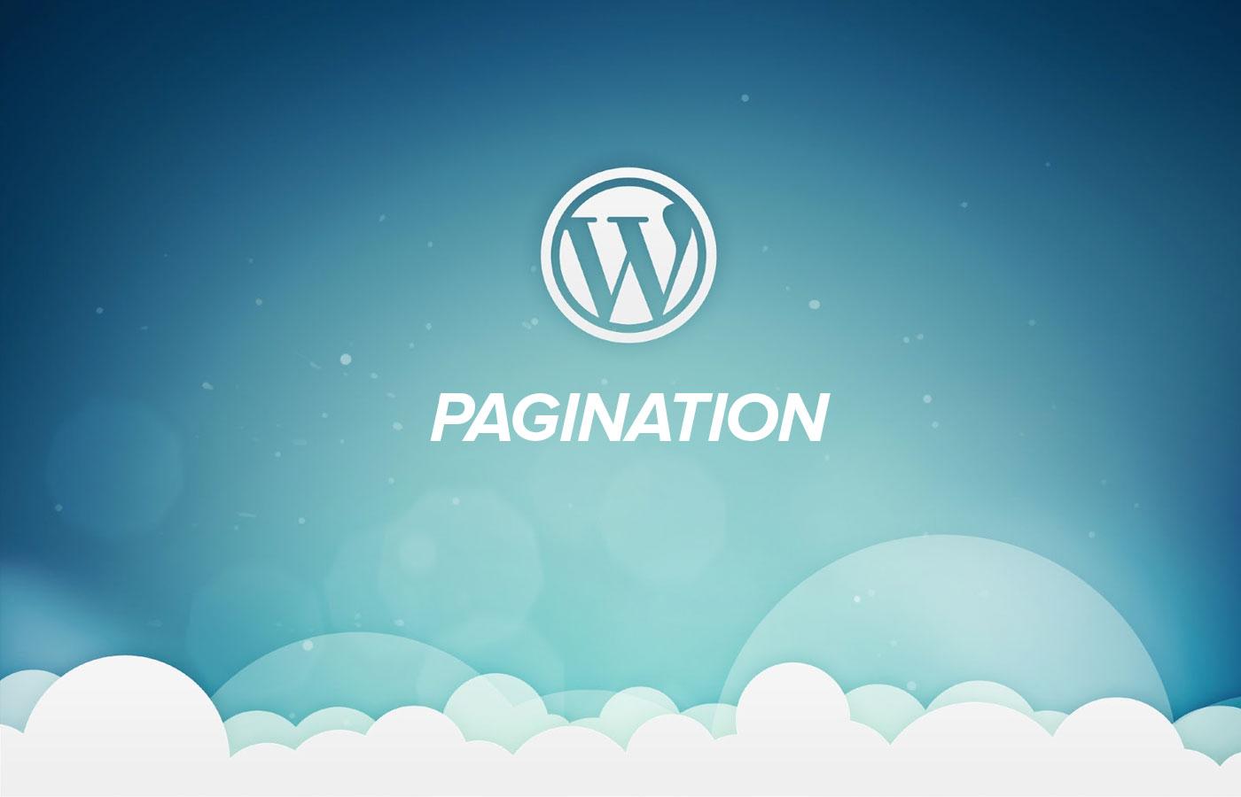 Simple WordPress Pagination